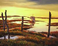 Dawn At Saltmarsh