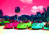 Psychedelic Cars