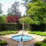 """Garden Fountain and Statue"" by Marysvision"