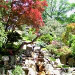 """Japanese Garden Waterfall"" by Marysvision"