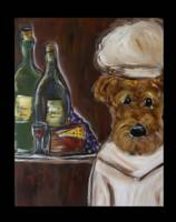 Airedale Terrier Chef