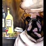 """""""Bulldog Chef"""" by ArtbyJoanne"""