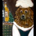 """Golden Retriever Chef"" by ArtbyJoanne"
