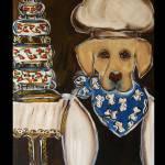 """""""Labrador Retriever Chef"""" by ArtbyJoanne"""