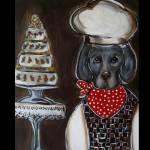 """""""Weimaraner Chef"""" by ArtbyJoanne"""