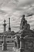 Tour Eiffel from Place de la Concorde