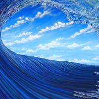 Cloudbreak cavern Art Prints & Posters by Marty Calabrese