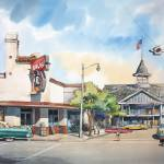 """""""Balboa Pavilion"""" by WillyDaleArt"""