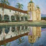 """Mission Santa Barbara"" by mikerabe"
