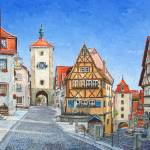 """Rothenburg Germany"" by mikerabe"