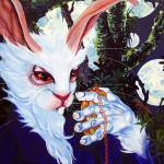 """""""The White Rabbit"""" by RW2Gallery"""