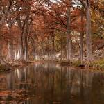 """""""Guadalupe River: Texas Hill Country Panorama"""" by PaulHuchton"""