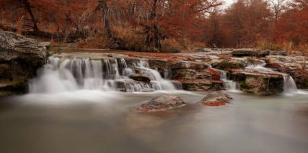 Guadalupe River: Texas Hill Country Autumn