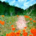 """Shale Path With Poppy"
