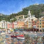 """Portofino Italy"" by mikerabe"