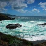 """Point Lobos Sea and Sky Panorama"" by oliverart"