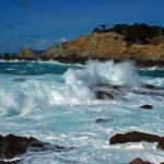 """""""Monterey Coast Distant Cypress"""" by oliverart"""