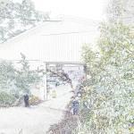 """""""Flowers Hut 014 PencilColour"""" by dawncloudflower"""