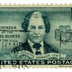 """Girl Scours Founder Juliette Gordon Low Stamp"" by WilshireImages"