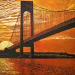 """""""Verrazano-Narrows Bridge"""" by mikerabe"""