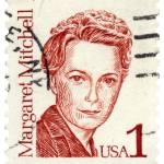 """Margaret Mitchell Commemorative Postage Stamp"" by WilshireImages"
