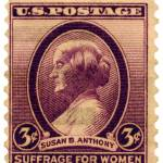 """Susan B. Anthony Commemorative Postage Stamp"" by WilshireImages"