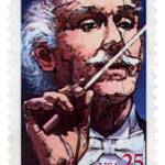 """Conductor Arturo Toscanini Commemorative Stamp"" by WilshireImages"