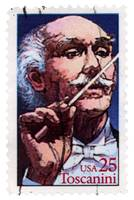Conductor Arturo Toscanini Commemorative Stamp