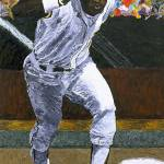 """Rickey Henderson"" by mikerabe"
