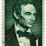 """Beardless Abraham Lincoln Commemorative Stamp"" by WilshireImages"