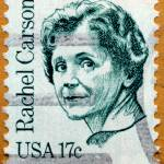 """Environmentalist Rachel Carson Postage Stamp"" by WilshireImages"