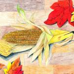 """Crystal Luk 11- Corn"" by sabahkinderart"