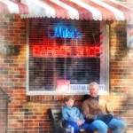 """Neighborhood Barber Shop"" by susansartgallery"