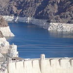 """Hoover Dam Water Line"" by Renie"