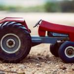 """Antique Metal Tractor"" by iheartafrica"