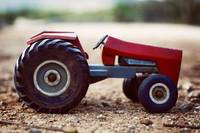 Antique Metal Tractor