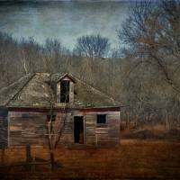 Spencer, Nebraska Abandoned House Art Prints & Posters by Micheal Peterson