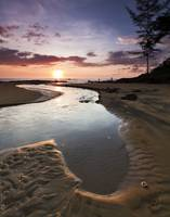 Sunset at Khao Lak