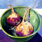 """""""Turnips in Bowl"""" by meredithsteele"""