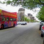 """Philadelphia Sightseeing Bus and Penitentiary"" by Marysvision"