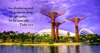 Psalm 23 , Garden by the Bay Singapore