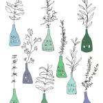 """Italian kitchen herbs food print"" by Lebonvintage"