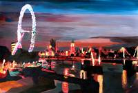 London Eye Night