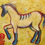 """Ethnic Totem Horse"" by carolsuzanne"