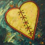 """Mended Broken Heart of Gold"" by carolsuzanne"