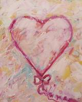 Pale Pink Heart