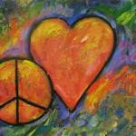 """One peace One Heart"" by carolsuzanne"
