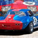 """1965 Corvette Rear View"" by StuartRow"