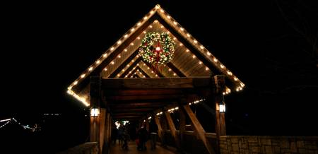 Light-covered Bridge