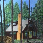 """Pocono House"" by DouglasBranson"